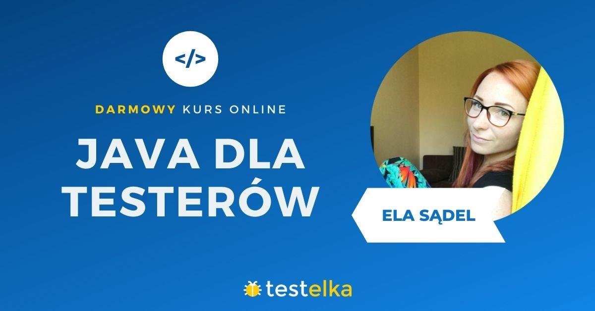 Java dla testerów
