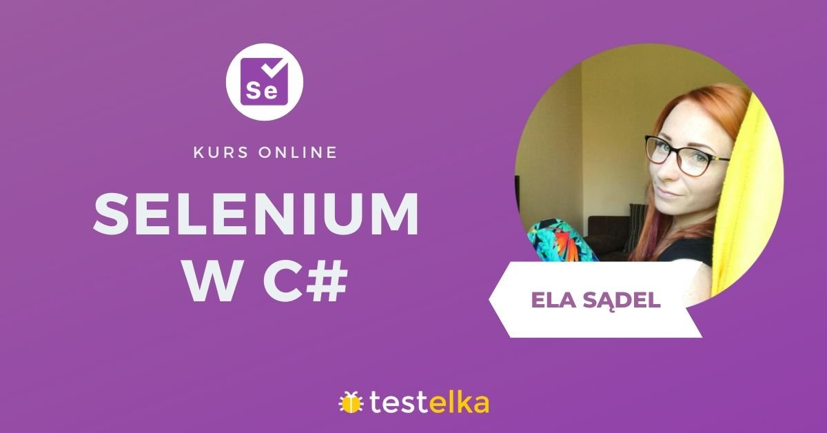 Kurs Selenium w C#