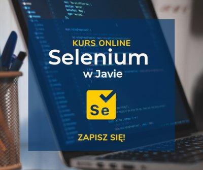 Kurs Selenium od zera w Javie